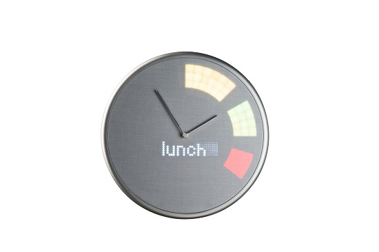Glance Clock lunch notification