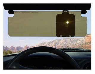 Sun Glare Sun Zapper dual lens stops hot spots from blinding you while you drive