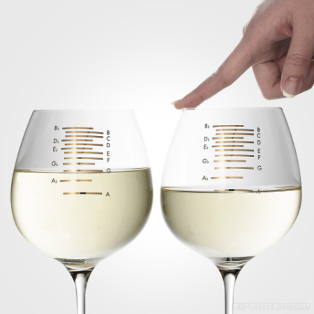 Musical Wine Glasses by Nostalgics