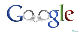 Handcuffed Google: This one might be a carry over from the Olympics...