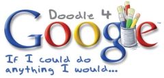 Google has a yearly doodling competition for kids ages K - 12