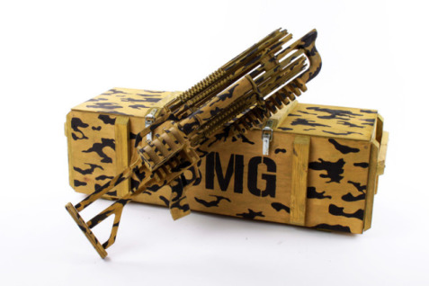 Rubber Band Machine Gun (Photos via Kickstarter)