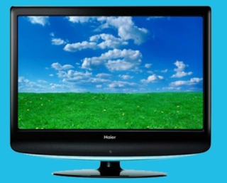 A 22-Inch Haier Television