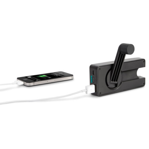 Thr Hand Crank Emergency Cell Phone Charger