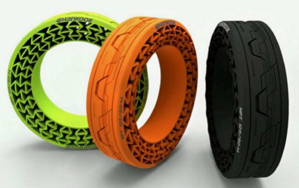 Hankook Airless Tires: Non-pneumatic tires are the wave of the future