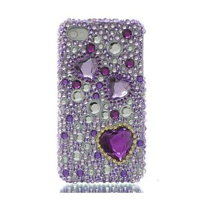 Premium Bling Diamond Crystal Snap-On Case