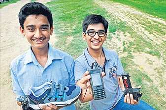 Creators of the Walkie Mobi Charger: Source: HindustanTimes.com