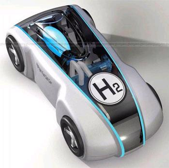 Hydrogen powered cars picture