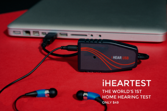 iHear Home Hearing Test: image via indiegogo.com