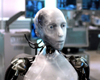 iRobot, the movie