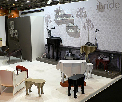 Diva Table and other table design in the animal hybrid collection: image via mocoloco.com