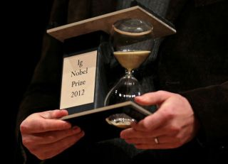 2012 Ig Nobel Award: image via ctpost.com