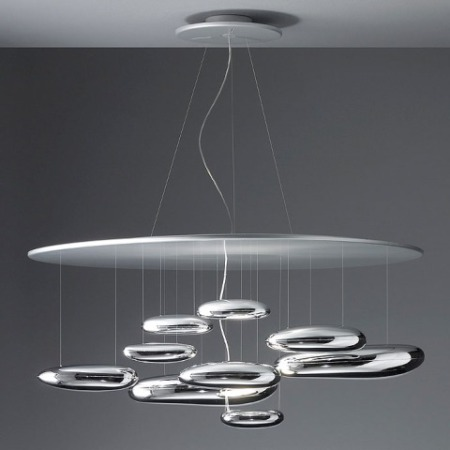 Mercury Suspension Light by Artemide