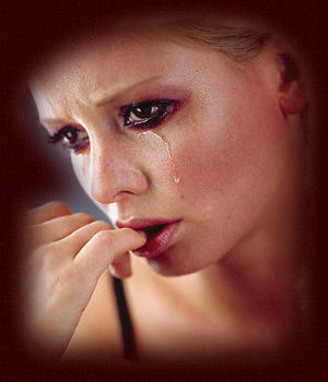 Too many tears may inhibit your man's sexual desire.: image via quickegreets.com
