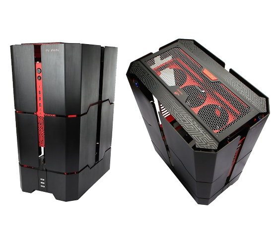 Tower Design Pc : In win h tower pc case transforms open at a button press