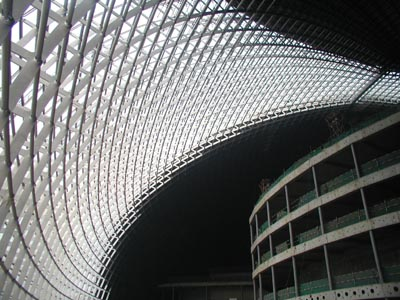 inside of the theater: image courtesy of english.people.com.cn