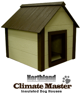 Northern Climate Master Insulated Dog House