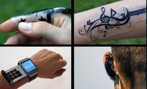 iSkin is a smart patch that you can wear anywhere on your body.
