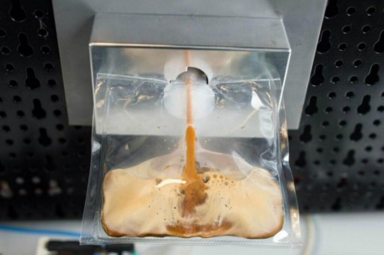 Isspresso machine and pouch: image: Digital Trends