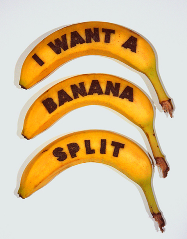 I Want A Banana Split (Honey)