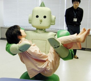 Robot for elderly in Japan, 2006. China's project started in 07.