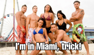 Jersey Shore in Miami