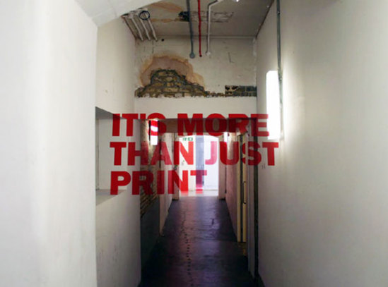 Anamorphic Typography: by Joseph Egan and Hunter Thomson via freshome.com