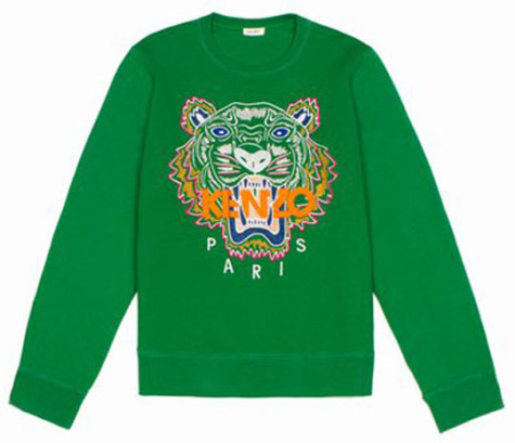 Kenzo Sweatshirt: Source: Fashiondaily.com