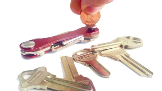KeySmart -- adding keys.