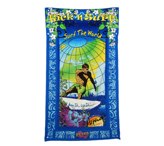 PTATT 'Kick'n Surf' Personal Travel Towel Bag: image via amazon.com