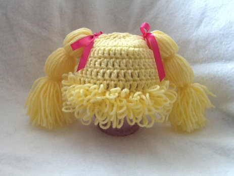 Cabbage Patch Doll Wig/Hat