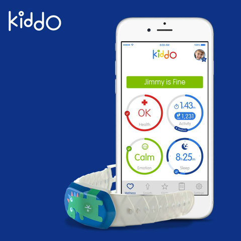 The Kiddo Wellness App: Real-time health information (image via Facebook)