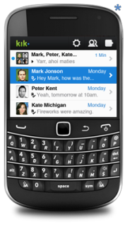 Kik - Blackberry