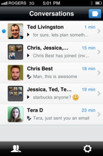 Kik - iPhone - Multiuser Chat