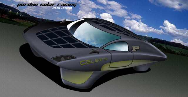The Purdue Solar Racing Team's 2011 Eco-marathon Entry: Celeritas