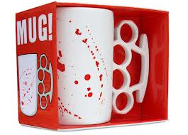 The Knuckle Duster Mug