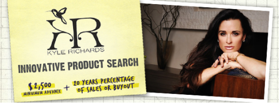 Kyle Richards Wants Hair Care Inventions