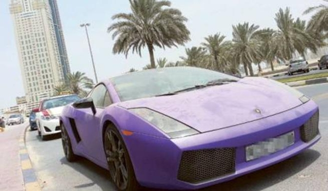 Debt Penalty The Top 10 Abandoned Luxury Cars Of The Uae