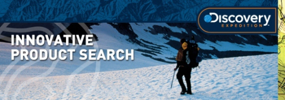 Discovery Expedition product search banner: image via edisonnation.com