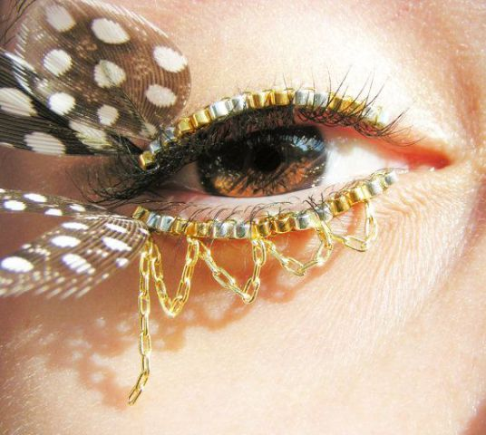 Eyelash Jewelry by Natalie Russo