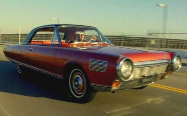Jay Leno takes his Chrysler Turbine Car for a spin