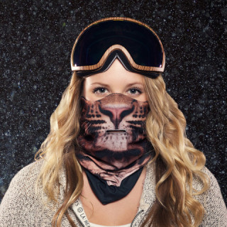 Beardo Leopard Mask
