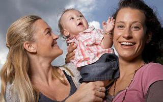 Lesbian mothers: ©Getty via telegraph.co.uk