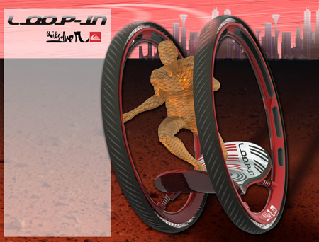 LOOP-IN Hybrid Skate And Surfing