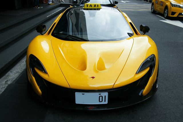 Checker This Out Mclaren Taxi Trolls Taiwan Travelers
