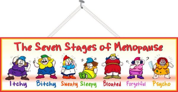 Menopause 7 Stages Sign