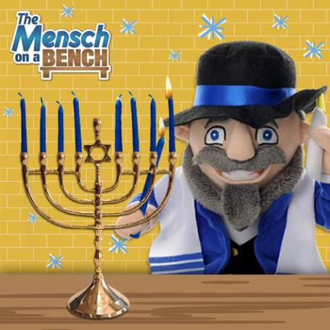 The Mensch on a Bench (Image via Facebook)
