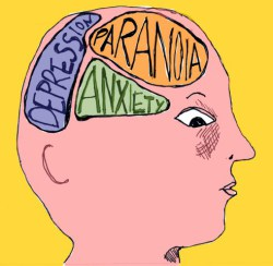 More than 25 percent of people every year suffer from a treatable mental illness.: image via blog.puravidabracelets.com