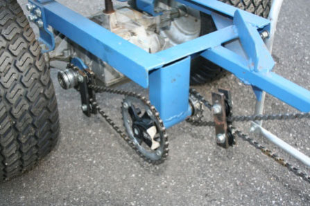 "The ""Pedal Plow's"" Drive Train"