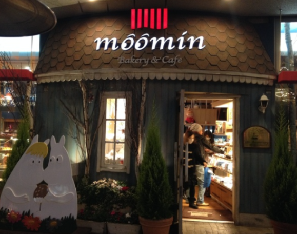 Moomin Cafe (Image via Rocket News 24)